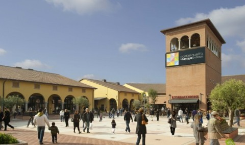 Castel Guelfo Outlet center